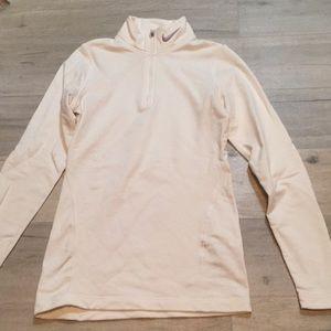Nike fit dry half zip pullover